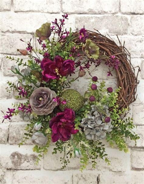 grapevine floral design home decor the 25 best ideas about front door wreaths on pinterest