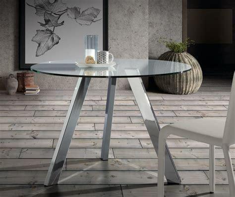 mesa comedor redonda cristal mesa de comedor redonda cristal pies acero inox 110 www
