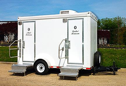 bathroom trailers best restroom trailers in western pa