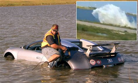 Bugatti Veyron Water Crash Lamborghini Aventador Worth 400 000 Gets Air During