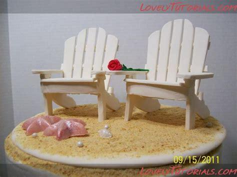 beach chair  popsicle sticks