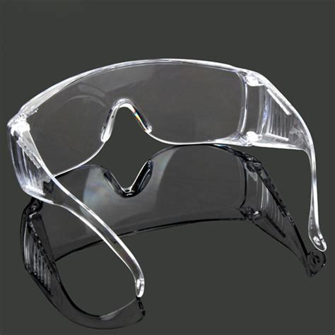 10x Vented Safety Clear Goggles Glasses Eye Protection Lab Work Anti F 1x vented safety pe goggles glasses eye protection