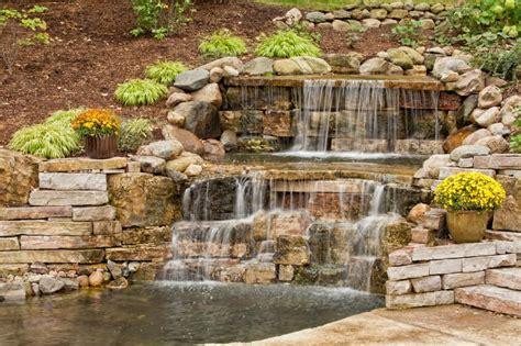 Stein Wasserfall Garten by 37 Garten Teich Ideen Designs Bilder Home Deko