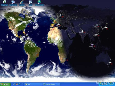 earth clock wallpaper download free living earth desktop wallpaper living earth