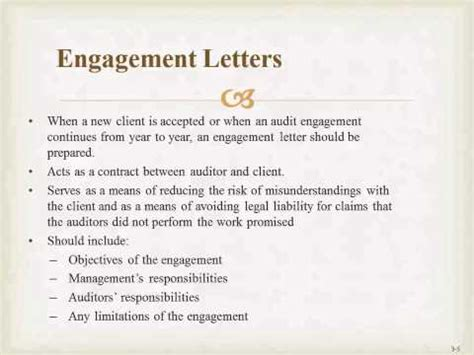 Auditing Introduction Letter Exle Engagement Letter