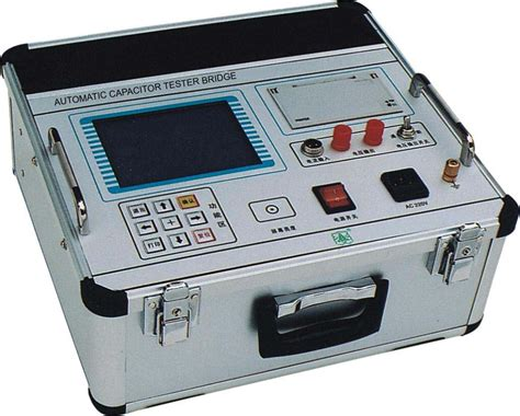 capacitor testing machine automatic capacitor tester bridge