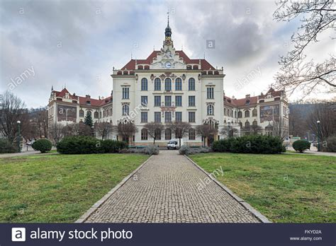Takes The To School In Prague 2 2 by Elementary School At Lyckovo Square In Prague Stock Photo