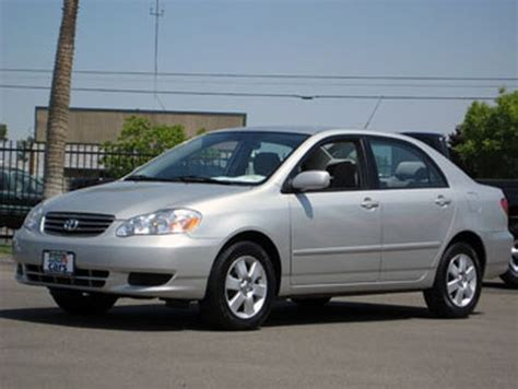 Tire Size 2004 Toyota Corolla 2004 Used Toyota Corolla Le At Cal Auto Outlet 4 Cars