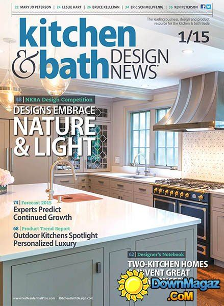 kitchen and bath design magazine kitchen bath design news january 2015 187 download pdf