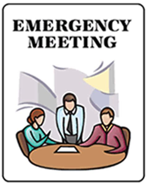 Sle Invitation For Emergency Meeting Free Emergency Meeting Printable Invitations