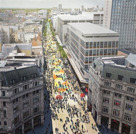 groupon haircut oxford circus radical plans unveiled to pedestrianise oxford street in