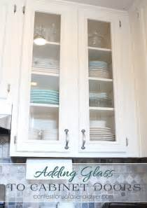 How To Make Kitchen Cabinet Doors With Glass 20 Inspiring Diy Kitchen Cabinets Simple Do It Yourself Ideas Home And Gardening Ideas