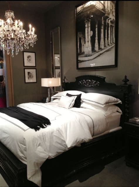 dark romantic bedroom dramatic and soothing at the same time home decor