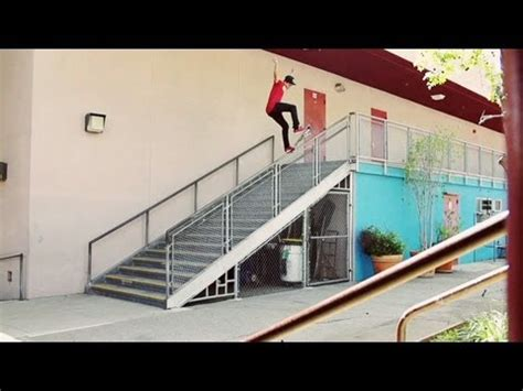 youtube stair layout nyjah s 18 stair hammer youtube