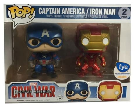 Funko Iron Civil War marvel s captain america civil war funko checklist popvinyls