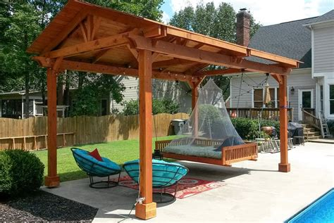 covered pergola kits pergola arts et voyages