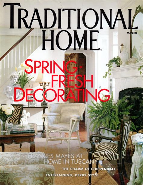 traditional house magazine traditional home magazine may 2002 back issue