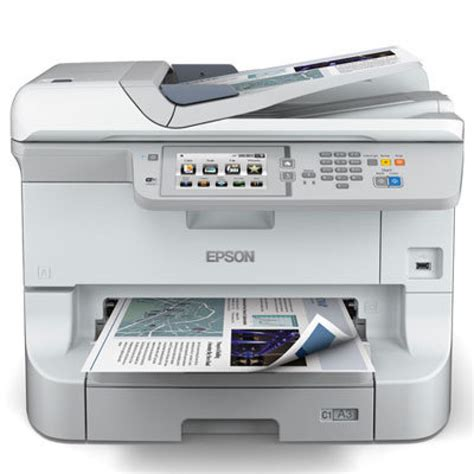 Printer A3 Epson epson workforce wf 8510dwf a3 colour inkjet printer ebuyer