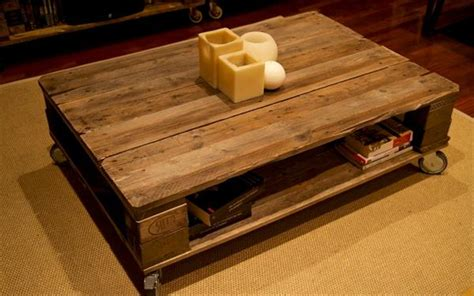build coffee table from pallets build pallet coffee table with wheels pallet furniture plans