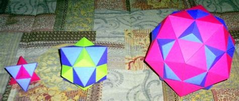 How To Make A Polyhedron Out Of Paper - paper polyhedra on the platonic solids information site
