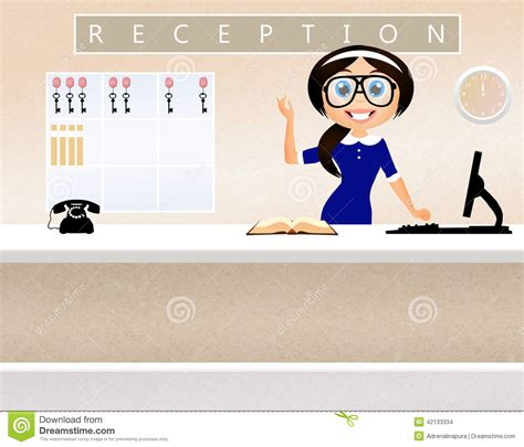 Hotel Front Office Clipart 46 Front Desk