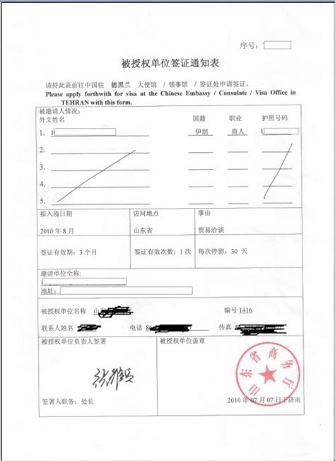 Invitation Letter For China Z Visa China Invitation Letter 4 China Visa Visa