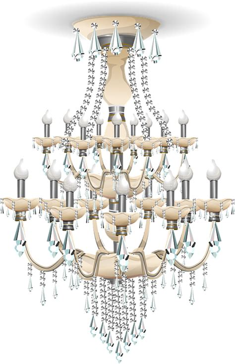 Blue Crystal Chandeliers Free Vector Graphic Chandelier Light Lighting Lamp