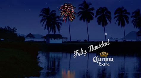 corona extra s o tannenpalm holiday ad celebrates 25 years