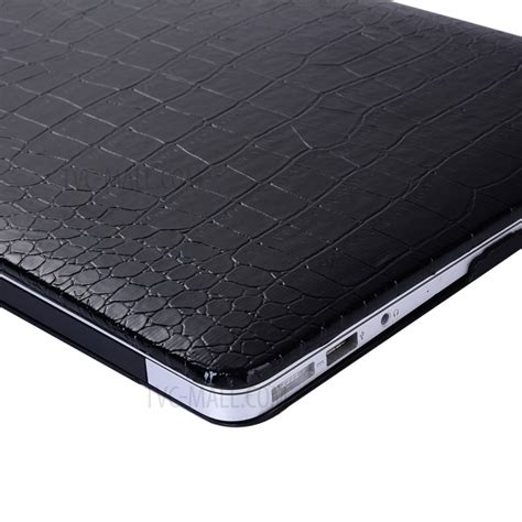 Macbook Pro Ratu Plaza leather coated pc for macbook pro 15 inch 2016 15 4 quot crocodile texture black tvc