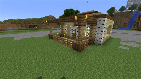 mine house minecraft house easy build here your starter building plans online 60976