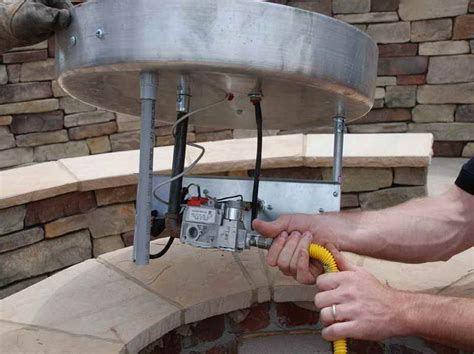 How To Build A Gas Firepit Outdoor How To Build A Gas Pit With Yellow Hose How To Build A Gas Pit Gas Pits
