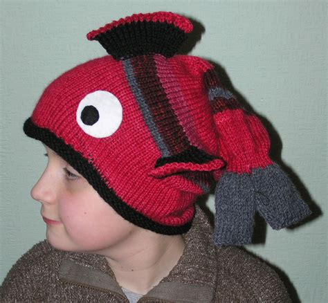 how to knit a fish fish hats tag hats