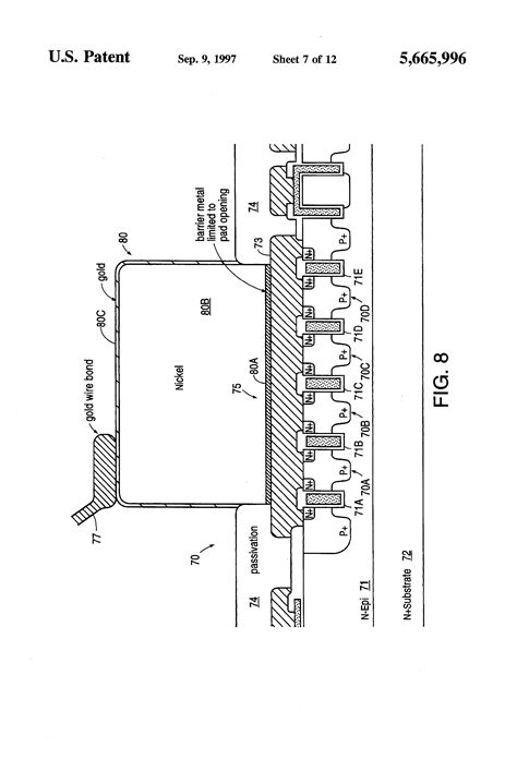 thick vs metal resistor patent us5665996 vertical power mosfet thick metal layer to reduce distributed