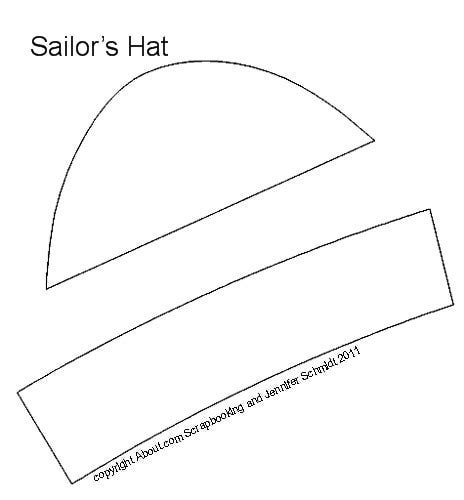 How To Make A Paper Sailor Hat Out Of Newspaper - sailor hat for sewing projects for