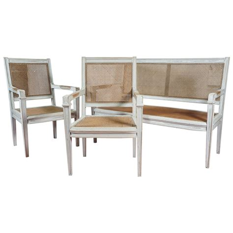 fashion bench directoire style bench and two chairs for sale at 1stdibs