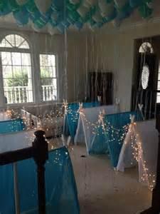 Sleepover party frozen theme birthday party indoor tents frozen