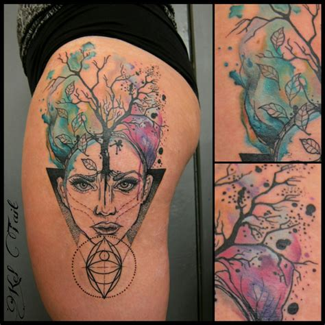 watercolor tattoos melbourne mel kel third eye ink tattoos
