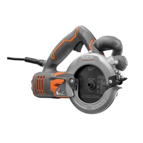 ridgid reconditioned 10 5 in 2 blade circular saw
