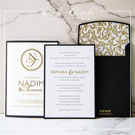 Marriage Invitation Cover by Cover Wedding Invitations Sydney Designed By Ooh Aah