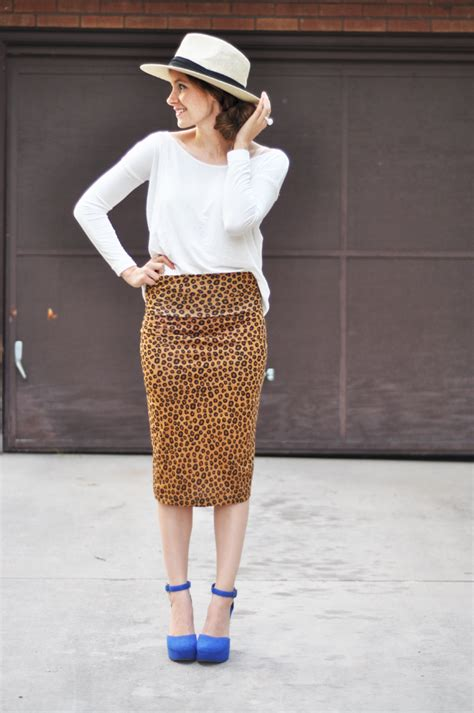 diy knit skirt easy stretchy pencil skirt tutorial can be worn