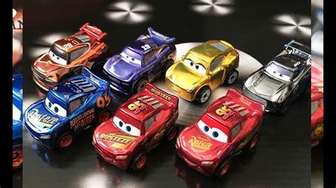 Cars Mini Racers Smokey new cars 3 mini racers series 3 metallic rusteze lightning mcqueen metallic next racers