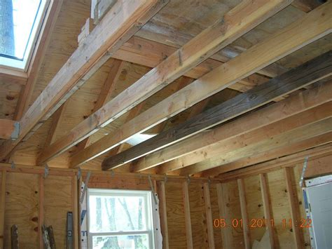 xs hold   heavy lumber  celing joists