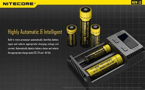 Charger Nitecore I2 By Techno Vape all new nitecore i2 intellicharger smart battery charger