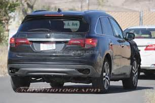 2017 acura mdx during testing road