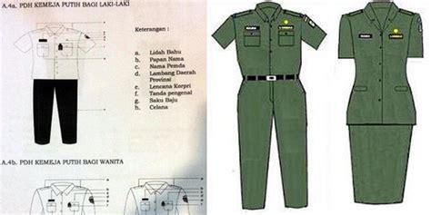 Baju Hitam Putih Untuk Pegawai mulai rabu besok ini seragam putih ala pns dki jakarta merdeka