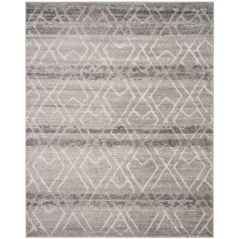 adirondack rugs safavieh adirondack silver black 10 ft x 14 ft area rug adr107a 10 the home depot