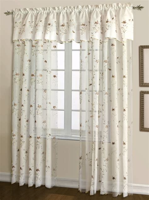 embroidered curtain loretta embroidered curtains egg chocolate united