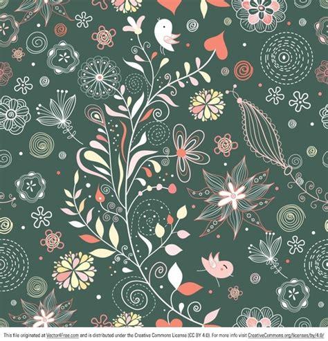 vintage pattern adobe illustrator vintage floral pattern vector free vector in adobe