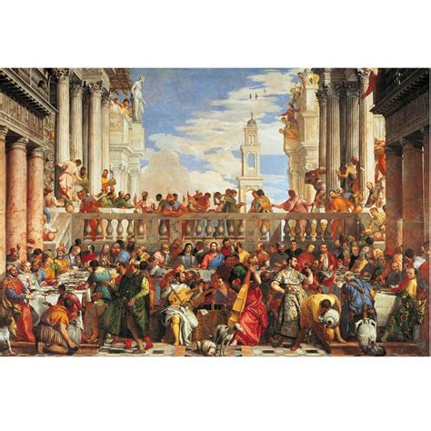 Wedding At Cana Puzzle by Museum Collection The Wedding At Cana 1000 Puzzle