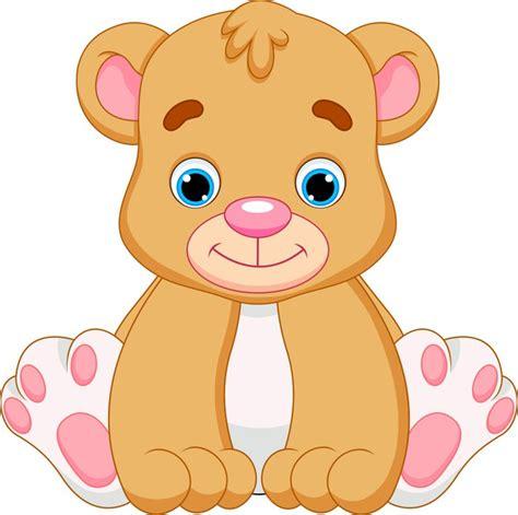 imagenes de osos navideños fotomural beb 233 lindo oso de dibujos animados pixers